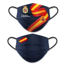 Mascarilla Reversible Policia Nacional