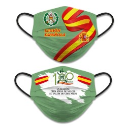 Mascarilla Reversible Legión Española