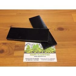 Micarta Negra Canvas  XL (2 Placas)