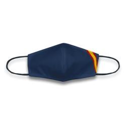 Mascarilla Azul Bandera España Reutilizable y Lavable