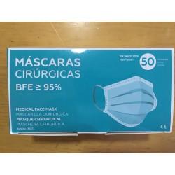 Mascarillas quirúrgicas -Caja de 50 uds-