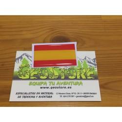 Pegatina Gota Cera España Grande 45x27mm