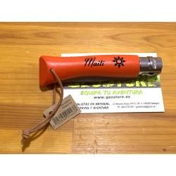 Opinel Inox Nº7 Naranja Doble Personalización