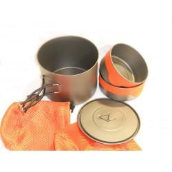 Toaks Titanium Pot 1300 + Bowls Kit