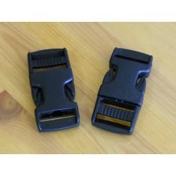 Pack 2 Hebillas ITW 20mm Negras