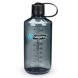 Botella Nalgene Boca Estrecha 1 Litro Gris