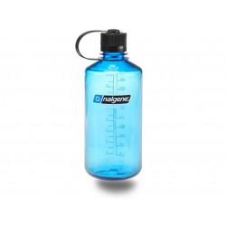 Botella Nalgene Boca Estrecha 1 Litro Azul