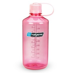 Botella Nalgene Boca Estrecha 1 Litro Rosa