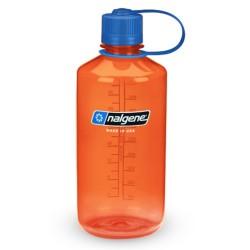 Botella Nalgene Boca Estrecha 1 Litro Naranja