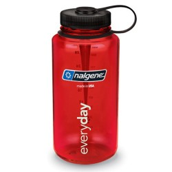 Botella Nalgene Boca Ancha 1 Litro Rojo