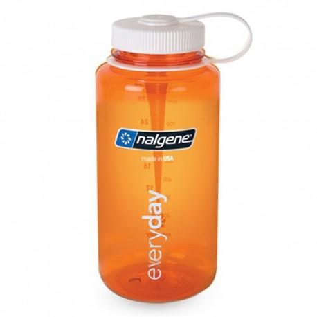 Botella Nalgene Boca Ancha 1 Litro Naranja