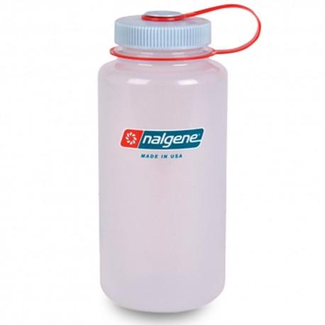 Botella Nalgene Boca Ancha 1 Litro Hielo Translucido