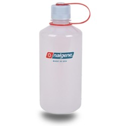 Botella Nalgene Boca Estrecha 1 Litro Hielo Translucido