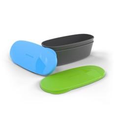 Light My Fire SnapBox Oval Pack 2 Verde/Azul