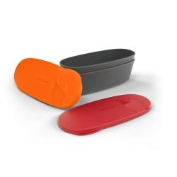 Light My Fire SnapBox Oval Pack 2 Rojo/Naranja