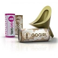 GoGirl Pack 3 (1 Rosa + 2 Khaki)
