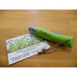 Opinel Inox Nº7 Verde Personalizada