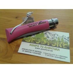 Opinel Nº7 Inox Rosa Personalizada
