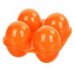 Caja Contenedor para 4 Huevos