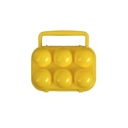 Caja Contenedor para 6 Huevos