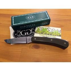 2G Semi-Custom Edi. Limitada Böhler N690Co Micarta Verde