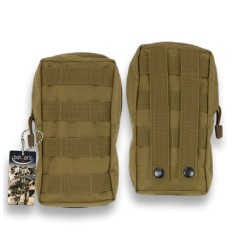 Táctical Pouch Molle Barbaric Coyote
